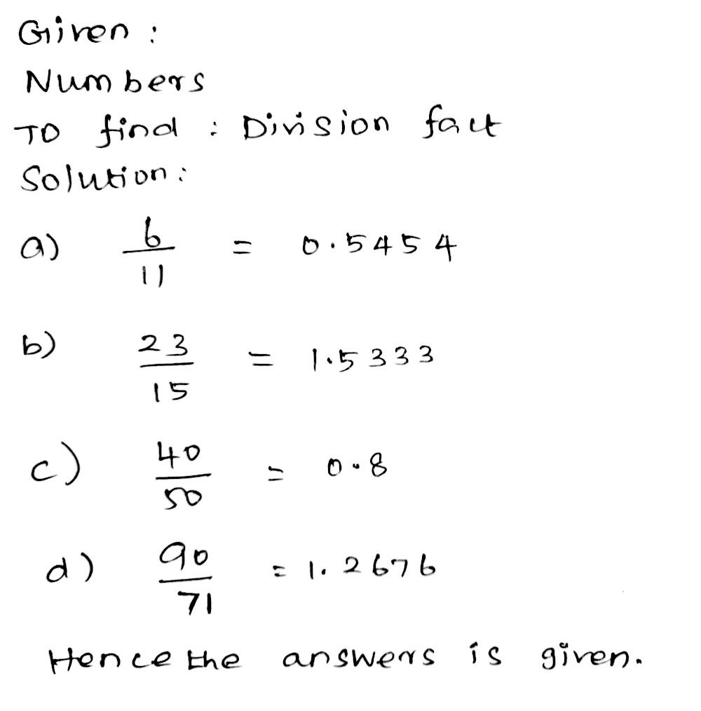 Write as a division fact: [a] <tex>frac 2222=square </tex> (b